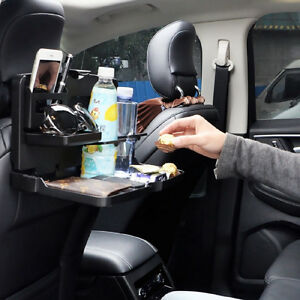 Portable Car Interior Cup Holder Car Seat Back Folding