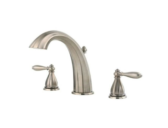 Price Pfister Rt6 Rp0k Portola Roman Tub Faucet Brushed Nickel