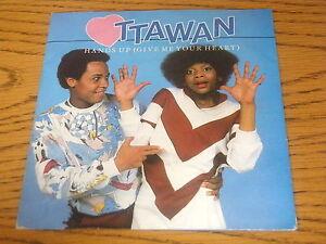 "OTTAWAN - HANDS UP (Give me your heart) 7"" VINYL PS | eBay"