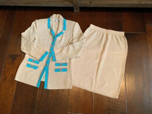 ST JOHN Knit Suit - Sz 4