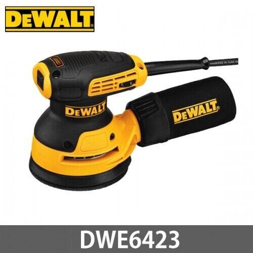 DeWalt DWE6423 5  Random Orbital Sander w Dust Bag 220V Variable Speed