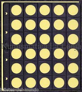 B-D-M-Hoja-Pardo-para-coleccionar-monedas-30-alojamientos-25-mm-Mod-75300