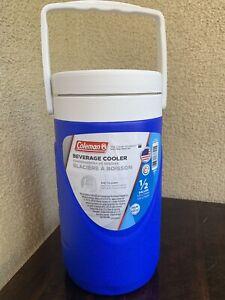 COLEMAN 3000001017 Beverage Cooler,1//2 gal.,Red