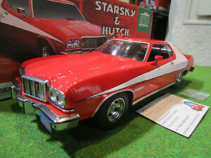 ford gran torino 1976 film starsky hutch 1 18 greenlight 19017 voiture miniatu ebay. Black Bedroom Furniture Sets. Home Design Ideas