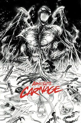 08//07//2019 UNKNOWN COMICS DELL/'OTTO EXCLUSIVE ABSOLUTE CARNAGE #1 OF 4