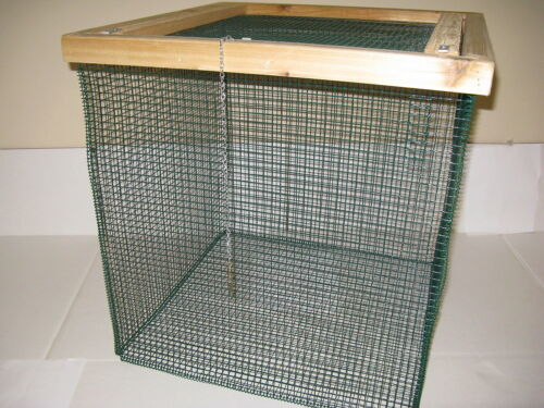 "BEST Floating Live Fish Well Basket with 1//2/"" wire Keep Fish Alive 2 ft Cage"