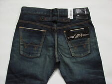 JEANS EDWIN SEN BLACK SKINNY  (japan selvage  dark-used) W30 L33 (P28595A1136)