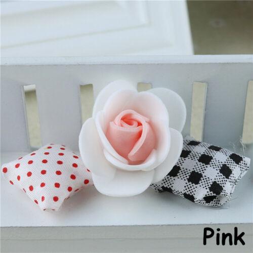 Wreath.kgm Ornament für Candy Box Künstliche Blumen Doppelfarbe PE Schaumrosen