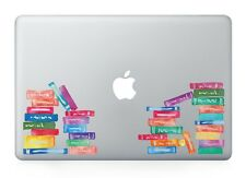 "School Books Library Laptop Apple Decal Sticker Macbook Air/Pro/Retina 13""1"