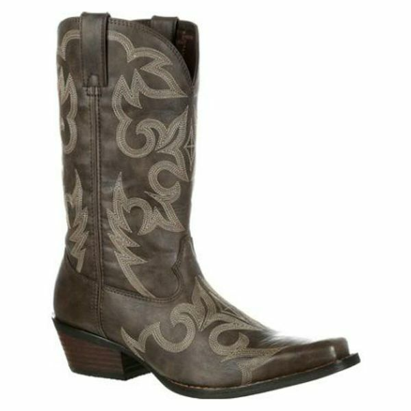 DDB0088 Gambler by Durango Men's Western Stitched Cowboy Boot - Brown NEW