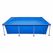 JLeisure 17773 Above Ground Rectangular Steel Frame Swimming Pool, 10 x 6.5 Ft