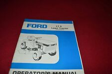 Ford LT 8 Lawn Tractor Operator's Manual CHPA