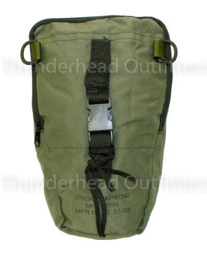 USGI US Military NIGHT VISION CASE Soft Carry Bag Pouch PVS-14 OD Green SM VGC
