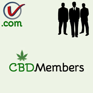 CBDMembers-com-GREAT-Cannabis-CBD-Member-Club-Theme-COM-Domain-Name