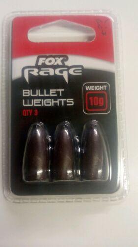 FOX RAGE BULLET WEIGHTS 10G