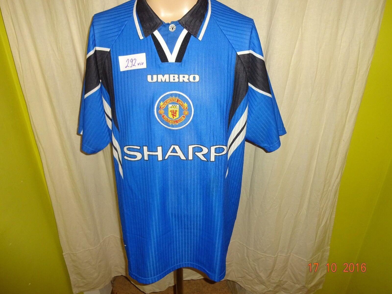 Manchester United Original umbro Ausweich Trikot 1996/97