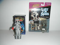 Lost In Space Robot Masudaya Japan Ym-3 Wind-up Mib+johnny Lighting Robot Carded
