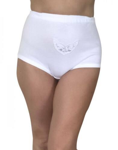 3//6//9//12 Pièce Femmes Maxi Slip Culotte Slip Bio Coton Sèche-linge