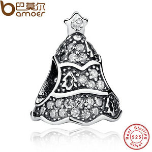 Bamoer-Authentic-S925-Sterling-Silver-Charm-with-Christmas-Tree-Clear-CZ-As-Gift