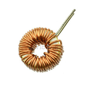 5Pcs-Toroid-Core-Inductors-Wire-Wind-Wound-mah-100uH-6A-Coil-DIY