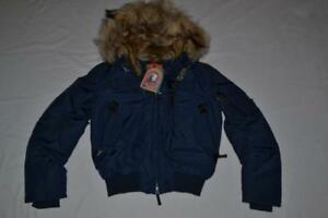 AUTHENTIC-PARAJUMPERS-GOBI-WOMEN-JACKET-MARINE-BLUE-SIZE-S-SMALL-BRAND-NEW