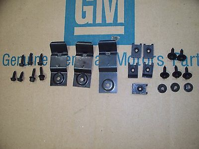 1969 69 Camaro SS RS Z28 dash pad mounting kit correct clips and screws