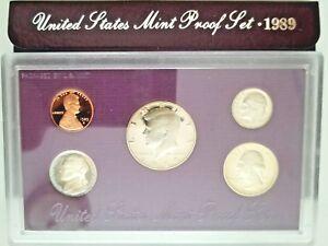 1989-US-MINT-original-complete-Proof-set-in-Presentation-Case-amp-Protective-Box