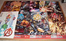 2013 Avengers 1 Variant 2 3 4 5 6 7 8 9 10-23 24 Variant 25-28 Marvel Now