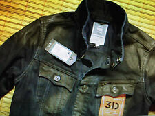 G-Star RAW Slim Tailor Strand 3D Jeansjacke NEU Gr S Slim Fit NP 179 E NEW Denim