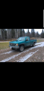 1993 Chevy 2500 single cab long box- AS IS