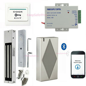 Metal Case Bluetooth Access Control for Entering Home Kit & 600lbs on lock wire chart, lock wire specification, lock wire tools, lock wire gauge, lock cable, lock plug, lock wire procedure, bearing diagram, rivet diagram,