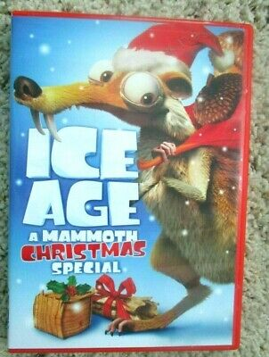 Ice Age A Mammoth Christmas.Ice Age A Mammoth Christmas Special Dvd 2011 Animated Movie Sid Manny 24543767756 Ebay