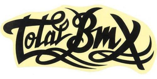 Total BMX Stickers Black