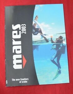 Vintage 2003 Mares Catalogue