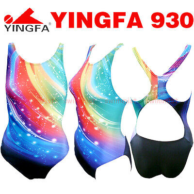 NWT YINGFA 930 COMPETITION TRAINING RACING SWIMSUIT S,M,L,XL,XXL FREE FLAT SHIP!