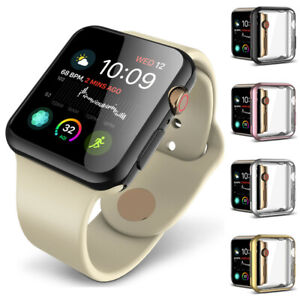 For-Apple-Watch-iWatch-Series-4-40mm-44mm-Soft-TPU-Protector-Case-Cover-Bumper