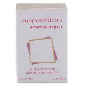 40ml-Emanuel-Ungaro-Aparicion-Femme-2-X-20ML-Edp-Perfume-Spray-Recharges