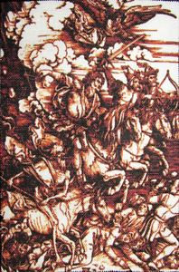 THE FOUR HORSEMEN Albrecht Durer 1471-1528 Printed Patch Sew On-Jacket,Bag