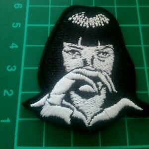 Mia Wallace Pulp Fiction Iron On Patch EMBROIDEREDH UK SELLER