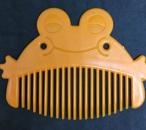 1960s Five /& Dime Store Vintage Toy Play Accessory ID US Orange Animal Combs