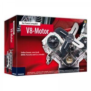 V8-Motor-Lernpaket-zum-selber-Bauen-Sportwagen-Bausatz-Modellbau-Franzis-Verlag