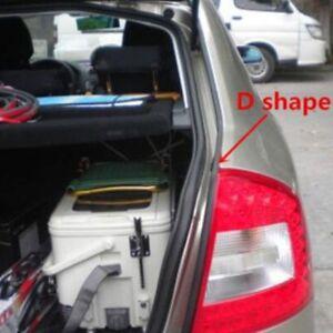 2-5m-D-Form-Auto-Tuer-Stamm-Gummikanten-Ordnungs-klebender-Dichtungs-Streifen