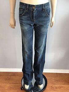 Flare Størrelse Gabbana Nwt Autentiske Blue Jeans Dolce Og 40 wx77OP4