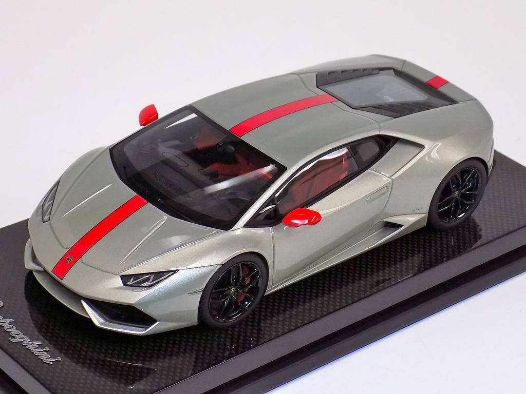 1 18 MR Collection Lamborghini Huracan Coupe LP610 Ad Personam Carbon Fiber Base