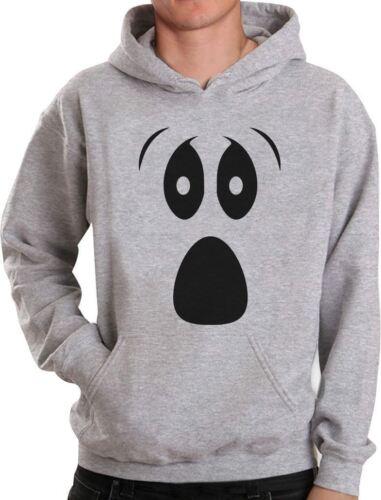 Funny Ghoul Face Halloween Ghost Costume Hoodie Spooky
