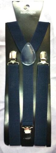 Réglable bretelles hommes femmes unisexe pantalon élastique y-back jarretelles clipon B3