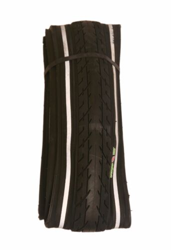 1 OF COLOURED 700 X 38 TYRE TIRE BLACK W REFLECTOR PUNCTURE PROT. 29ER x 1.50