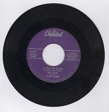 Les Paul & Mary Ford 45 RPM A Pair of Fools / Fire Capitol #F3825  Record