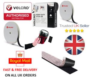 VELCRO® Brand Heavy Duty Self Adhesive HOOK /& LOOP ULTRA-MATE® 50mm WIDE BOTH