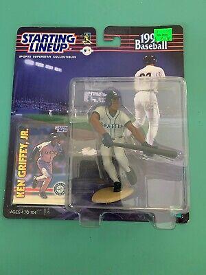 1999  KEN GRIFFEY JR - Starting Lineup SEATTLE Loose Figure /& Card SLU